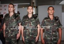 ชิน-ชาโน-กวิน 3หนุ่มกับการเป็นทหาร!!