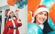 """ส่องควันหลงวันคริสต์มาส ที่คุณต้องหลงรักซานต้าคนนี้!! """"ใหม่ ดาวิกา"""" บอกเลยน่ารักสุดๆ !!"""