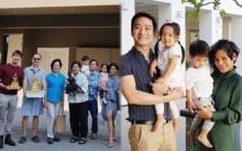 """""""โอปอล์–หมอโอ๊ค"""" ถือฤกษ์ดีย้ายเข้าบ้านใหม่ สร้างขึ้นให้ใกล้โรงเรียนลูกแฝด"""