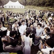 ประมวลภาพงานแต่งงาน แอฟ-สงกรานต์ สุดหวาน
