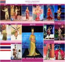 วิจารณ์กระหน่ำชุดประจำชาติ นาฏยมาลี  Miss Universe Thailand