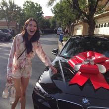 เจ เจตริน ซื้อ BMW คันงามผูกโบว์ เซอร์ไพร้ส์ เจด้า ลูกสาวคนสวย