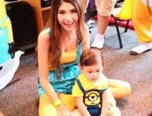 น่ารักม๊าก!! ซาร่า จัดปาร์ตี้วันเกิดครบ 1 ขวบ น้องแม็กซ์เวลล์ ในธีมมินเนี่ยน