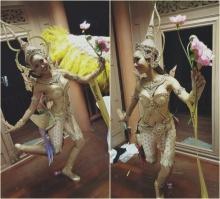 ปอไหม มิสแกรนด์ฯ2015 โชว์ชุดจันทกินรีชุดประจำชาติ