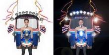 """ภาพเบื้องหลังทำชุด """"ตุ๊กตุ๊กไทยแลนด์"""" นักออกแบบลงทุนเชื่อมเองกับมือ!!"""