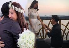ว่าที่เจ้าสาว โบว์ ถูกขอแต่งงานกลางสะพานหวานเวอร์