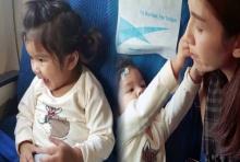 'แม่โบว์'พา 'มะลิ' ขึ้นเครื่องบินครั้งแรก เลยได้เห็นภาพน่ารักๆแบบนี้