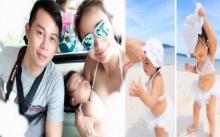 ส่องภาพสุดน่ารัก!! กระแต ศุภักษร และครอบครัวไปเที่ยวทะเลฉลองวันเกิดสามี หลุยส์