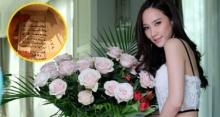 โสดแล้วไง!? อั้ม พัชราภา โดนเซอร์ไพร์สด้วยดอกไม้ช่อโต และจดหมายสารภาพรักฉบับนี้!