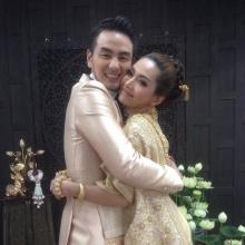 บีม ศรัณยู ชาช่า ทามาดะ เผยภาพพรีเวดดิ้งชุดไทย ก่อนแต่งงานปลายปี
