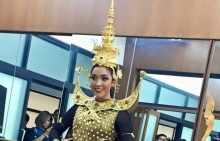 เปิดตัวชุดประจำชาติ เวที Miss Earth 2015 เริ่ดหรูแบบไทยๆ!!