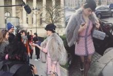 ภาพจัดเต็ม!! ปีแรกของ'ใหม่'เฉิดฉาย ที่'ปารีส แฟชั่นวีค!'