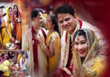 งดงาม!!งานแต่งสไตล์ภารตะของตา สุรางคณา กับหนุ่มอินเดีย(คลิป)