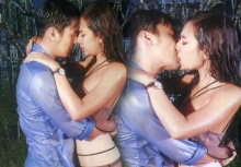 ดูดดื่มขั้นสุด!!แซมมี่-ธันวา จูบกันดุเดือดกลางสายฝน!!