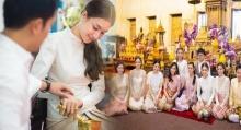 งามอย่างไทย!! เนย โชติกา ขนขบวนเด็กแก๊ง ใส่ชุดไทย