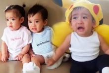 น่ารักอ่ะ!!โอปอลล์ จับลูกแฝด อลิน-อลัน เกาะกระแสโปเกม่อน