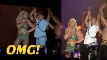 เสียงกรี้ดกระหึ่ม!! เมื่อ ป๋อมแป๋ม ได้ขึ้นเวทีคอนเสิร์ต บริทนีย์ สเปียร์!!  (มีคลิป)