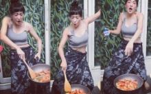 """ทำไปได้!! """"เฟี้ยวฟ้าว"""" กับลีลาทำอาหาร บอกเลยเด็ดดวงจริงๆ!! (มีคลิป)"""