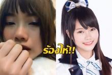 มิวสิค วงBNK48 ร่ำไห้น้อยใจ งานน้อยกว่าเพื่อนในวง(คลิป)
