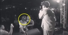 อ๊อฟ ปองศักดิ์ เผยคลิปวินาทีกำลังร้องเพลง จู่ๆมีสาวเดินมาหน้าเวที ก่อนเปล่อยโฮ! (คลิป)