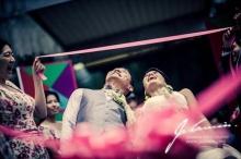 [คลิป]บรรยากาศแต่งงาน ต๊อก ศุภกรณ์ & อุ๋ย