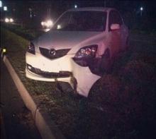 ฮือฮา นาตาลี-เดวิสประสบอุบัติเหตุ