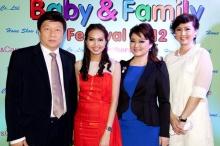"""""""เบบี้ แอนด์ แฟมิลี่ เฟสติวัล 2012""""เทศกาลงานเพื่อครอบครัวและเด็ก"""