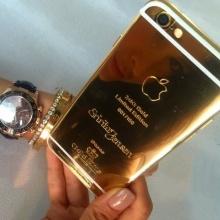 นางสวย และ รวย มาก จริมๆ ! ศรีริต้า  โชว์ ไอโฟน ทองคำแท้!