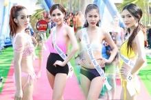 น้ำเพชร สวยสู้แดดแหกกระเจิง เป็นเทรนเนอร์ Miss uncensored news Thailand 2015