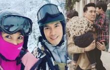 เคน-หน่อย ลั้ลลาท้าหนาวพาลูกชายเล่นสกีที่ญี่ปุ่น!!