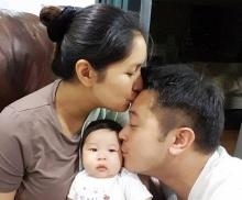 ครอบครัวน่ารัก เบนซ์-มิคอุ้มน้องปริมไปเที่ยวทะเลหัวหินครั้งแรก