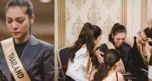 ฝ้าย Miss Grand Thailand 2016 ร่ำไห้ หลังทราบข่าว เสด็จสวรรคต