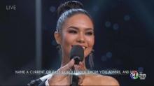 ทำดีที่สุดแล้ว! น้ำตาลตกรอบ 6 คนสุดท้าย Miss Universe 2017