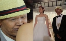 20ปีรักไม่เปลี่ยนแปลง!! 'สุเทพ สีใส'หลั่งน้ำตาควงภรรยาวิวาห์หวาน ราวโฉมงามกับเจ้าชายอสูร(คลิป)