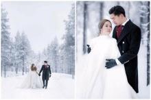 จัดไปอีกชุด!!! เป๊ก-นิว เผยภาพพรีเวดดิ้งสุดสวีทกลางหิมะ หนาวเนื้อห่มเนื้อ คนโสดตายเรียบ