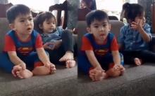 """ย้อนดูคลิป """"ตาโจ"""" ลูกใจเริง สมัยที่มีโอกาสเจอกับ """"น้องมะลิ"""" ลูกแม่โบว์ คุยเล่นกันน่ารักมาก!! (มีคลิป)"""