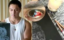 เอ พศิน อธิษฐานจิต ขอนิมิตรเห็นใบหน้าจริงของปู่ศรีสุทโธฯ ก่อนลงมือวาดภาพออกมาเป็นรูปนี้!