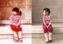 กลับมาที่เดิม!! แอฟ โพสต์ภาพตัวเองตอนเด็ก เทียบน้องปีใหม่ น่ารักเวอร์