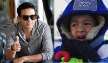 """ลูกหายแทบเป็นลม """"ป๋อ"""" เล่านาทีทำน้อง """"ภูดิศ"""" หายขณะเล่นสกีที่เกาหลี แล้วเอ๋ไปไหน?"""