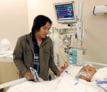 เศร้าปนซึ้งสาวมาด-สามีและกุหลาบสีชมพู บนเตียงพยาบาล