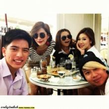 กาโม่ อาชวิน กับเหล่าดารานักแสดง