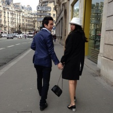 อั้ม & แอมป์ สวีทหวาน ณ.กรุงปารีส