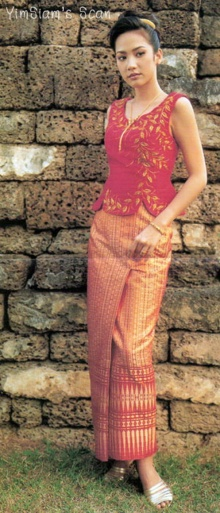 หาดูยากส์!อั้ม พัชราภา ใส่ชุดไทยถ่ายแบบเมื่อ 11 ปี ที่แล้ว