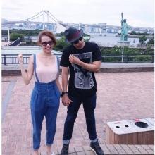 Pic : แดน วรเวช ควง แพทตี้ อังศุมาลิน เติมความหวาน ณ ญี่ปุ่น