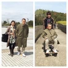 ณเดช ควง คุณพ่อ  - คุณแม่ ตะลุย ญี่ปุ่น