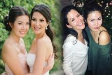 น้องเจด้าโตทันแม่จีน่าแล้วสวยทั้งคู่อย่างกับพี่สาว-น้องสาว