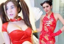 ตรุษจีนแซ่บ!!สาวๆใส่ชุดกี่เพ้าเซ็กซี่เห็นละอยากแจกซองแดง!!