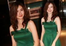 เชอรีน อวดผิวขาวในชุดสีเขียวออร่าพุ่งเชียว!!