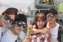 ยังหวานได้อีก!! อ้วนรังสิต ควงแฟนเกาหลีสุดแบ๊วเที่ยวสิงคโปร์