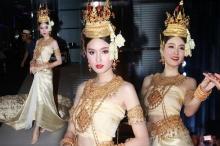 งดงามดั่งหลุดออกมาจากวรรณคดี ปอย ตรีชฎา สวยเจิดจรัสในชุดไทย